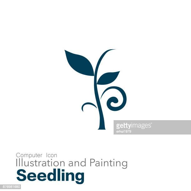 seedling - cultivated stock illustrations