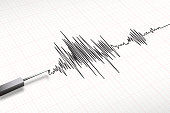 seismograph machine earthquake vector