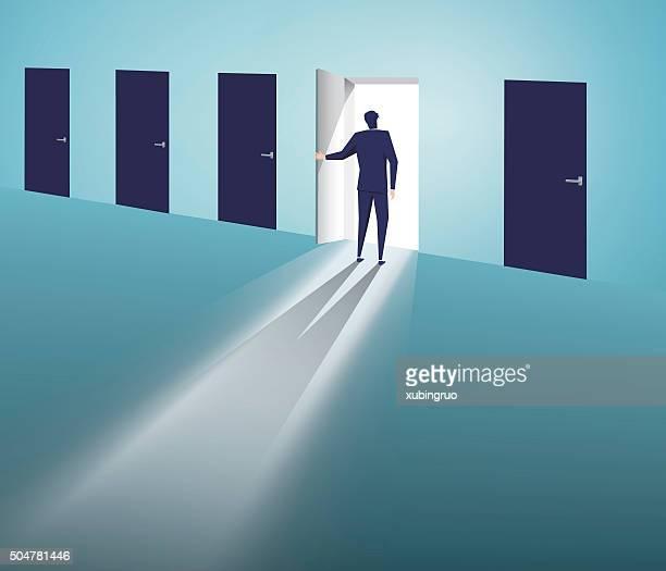 Select the door