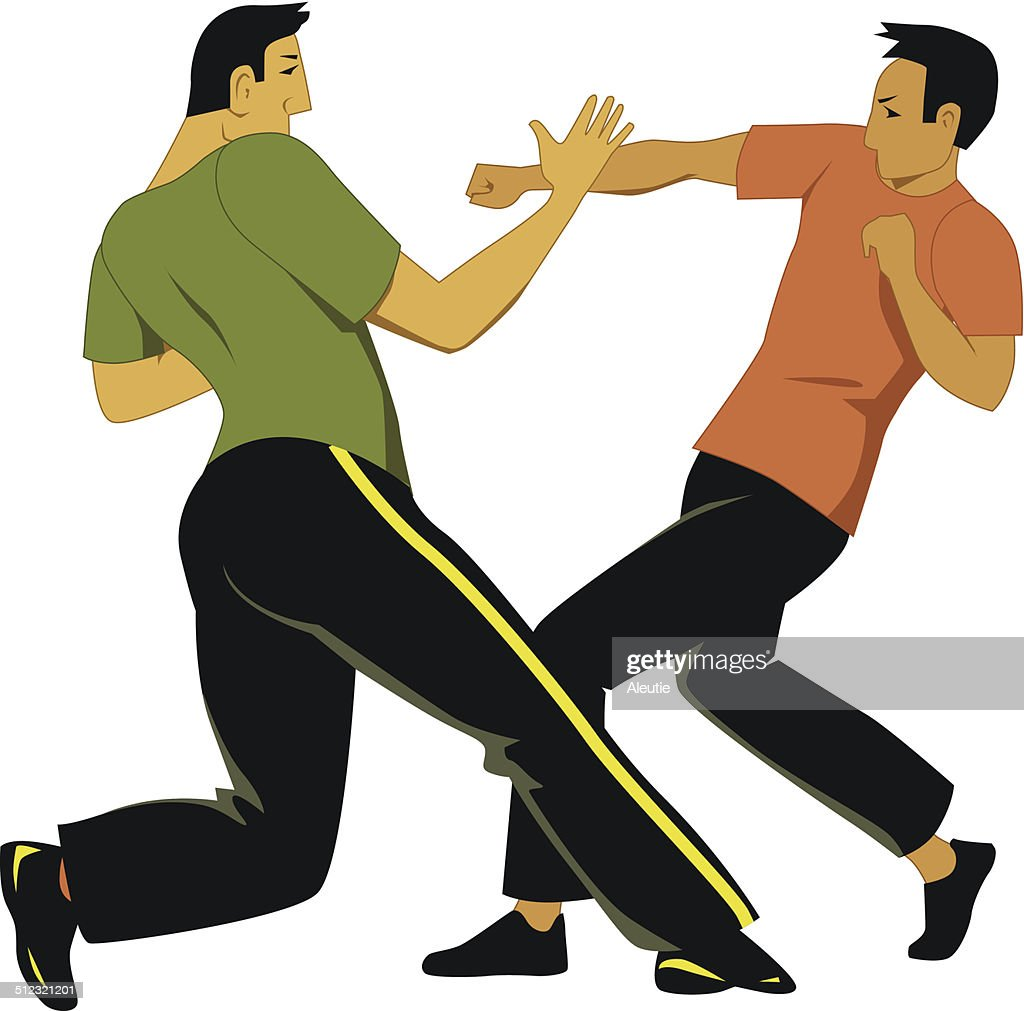Self-defense sparring