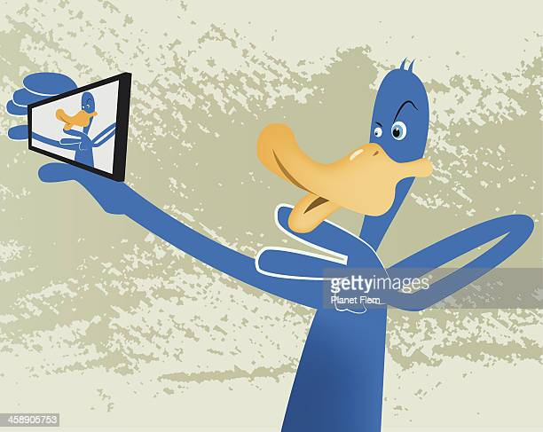 Selfie Duck Face