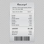 sell receipt