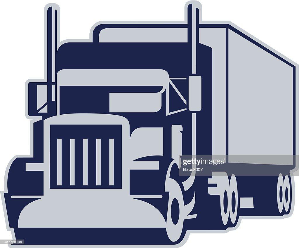 Semi Truck : stock illustration