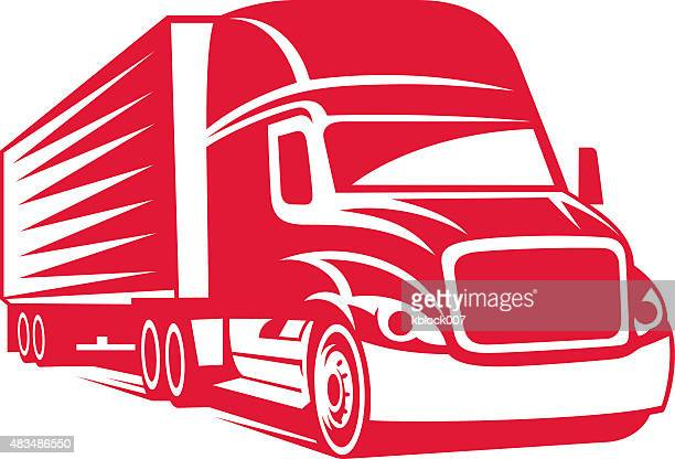 truck driver vector art and graphics getty images