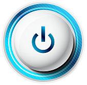 Semi-realistic power button