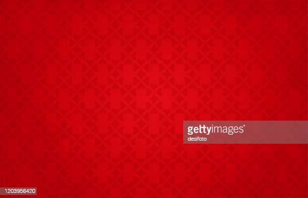 semi-seamless (nur muster ist nahtlos & nicht grunge) helle lebendige rötliche kastanienbraune farbige grunge hintergründe mit einem muster von kleinen herzen bilden ein florales muster über den horizontalen rahmen - tapete stock-grafiken, -clipart, -cartoons und -symbole