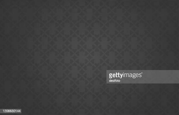 semi-seamless strukturierte dunkelgrau gefärbte hintergründe (das herzmuster ist nahtlos, während der grunge nicht ist) mit einem floralen muster aus kleinen herzen allover - tapete stock-grafiken, -clipart, -cartoons und -symbole