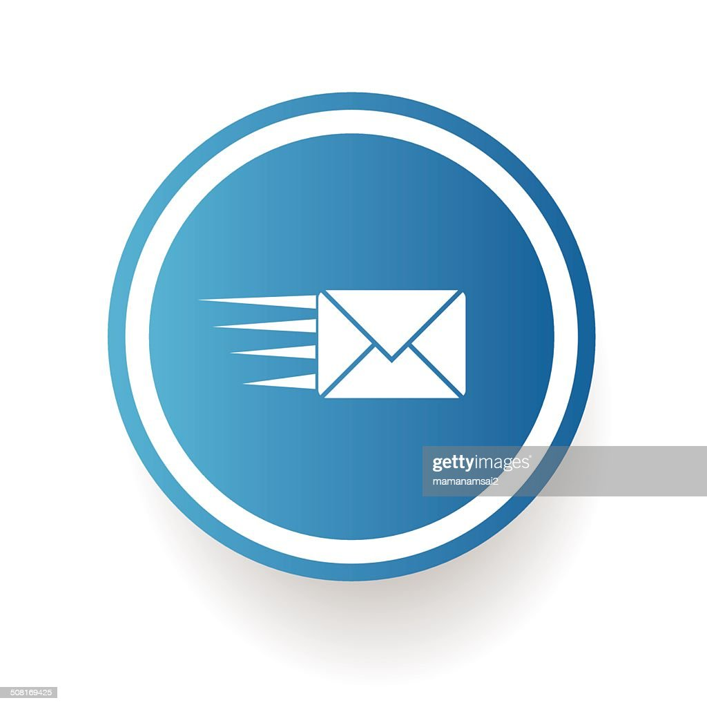 Send email symbol,vector