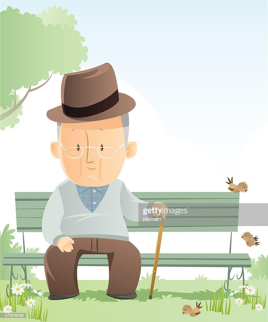 Senior Adult : stock illustration