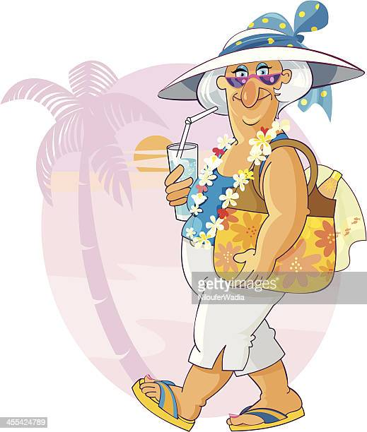 Senior on Vacation