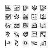Seo and Marketing Vector Icons 6