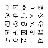 Seo and Marketing Vector Icons 7