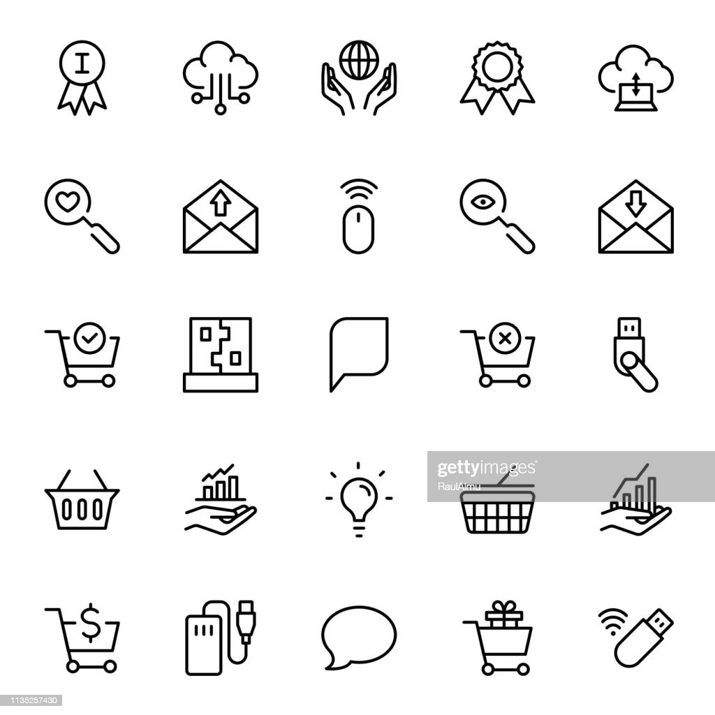 Seo marketing flat icon
