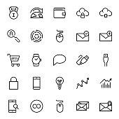Seo marketing flat icon