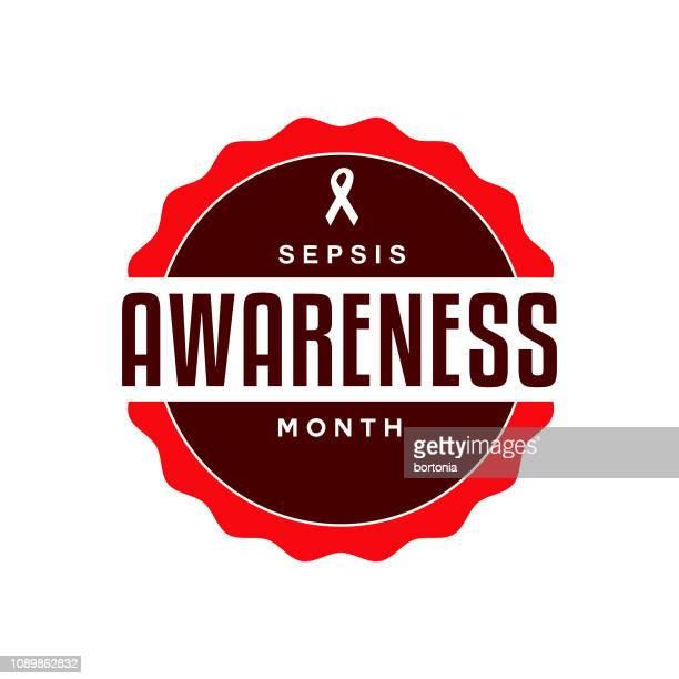 sepsis awareness month - sepsis stock illustrations