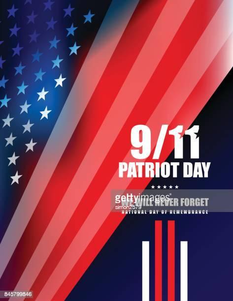 September 11 Patriot Day background