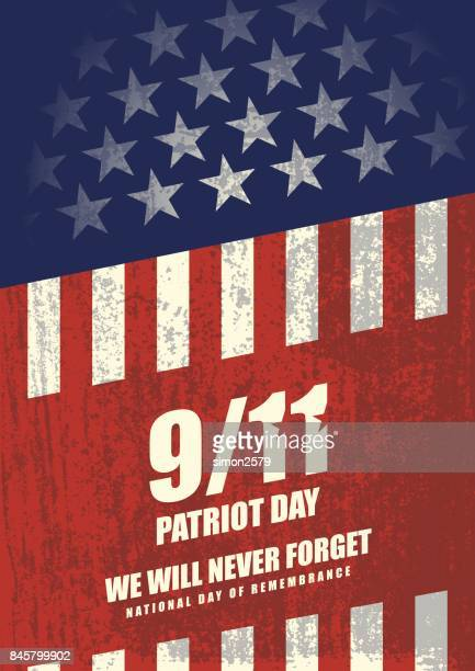 September 11 Patriot Day background