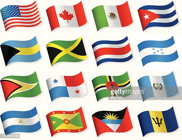 Serie de Norte América Central y el parque temático Six flags