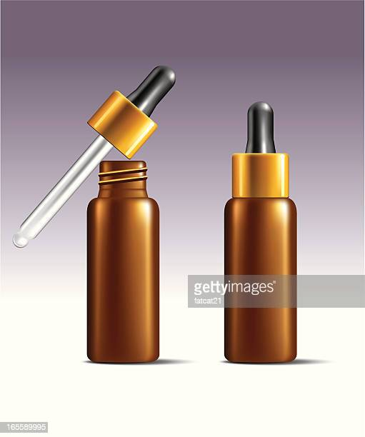 serum dropper - pipette stock illustrations, clip art, cartoons, & icons
