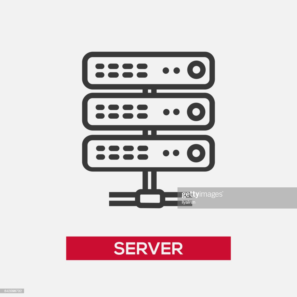 Server single icon