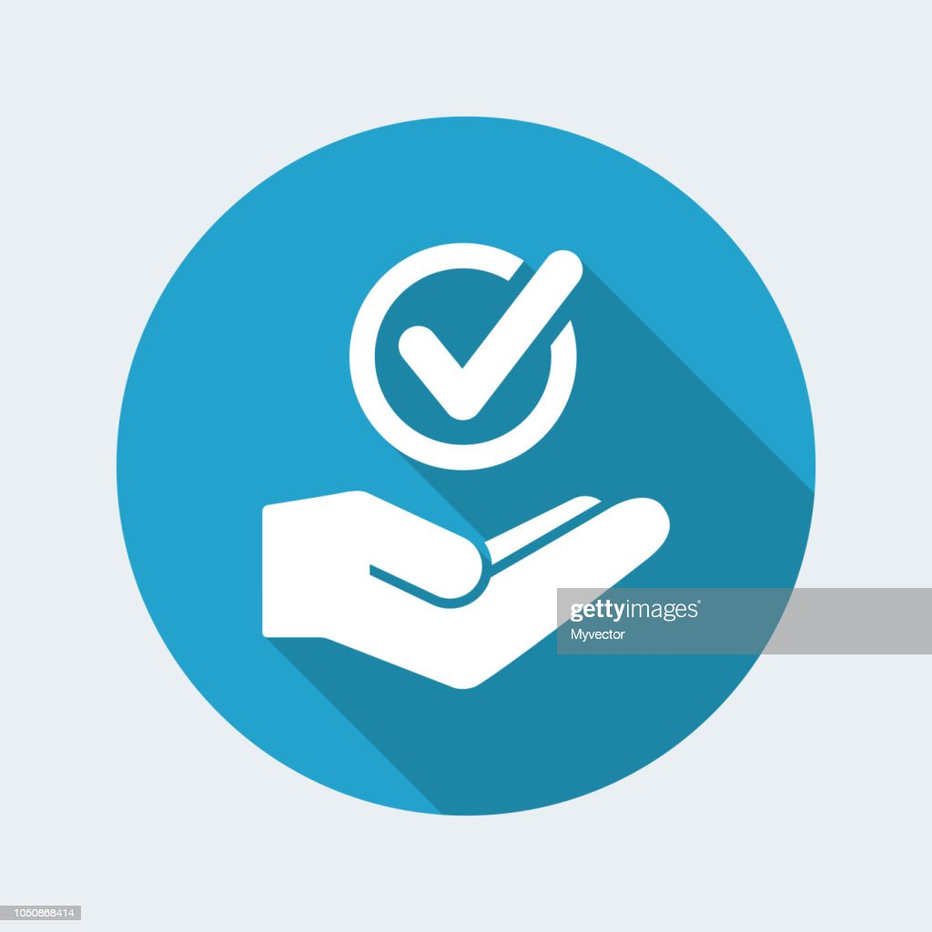 Service offer - Check choice - Minimal icon