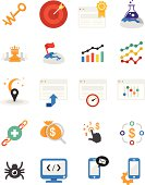 SEO Services Icons | Antto series - Illustration