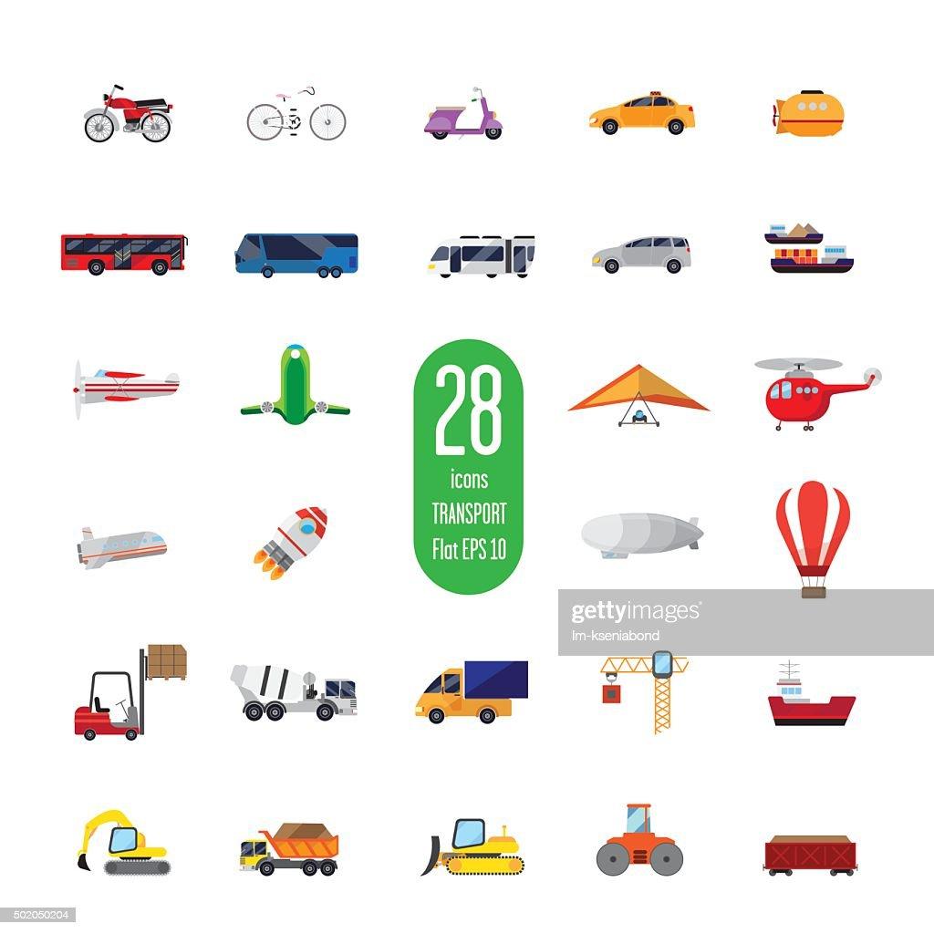 set appliances icons