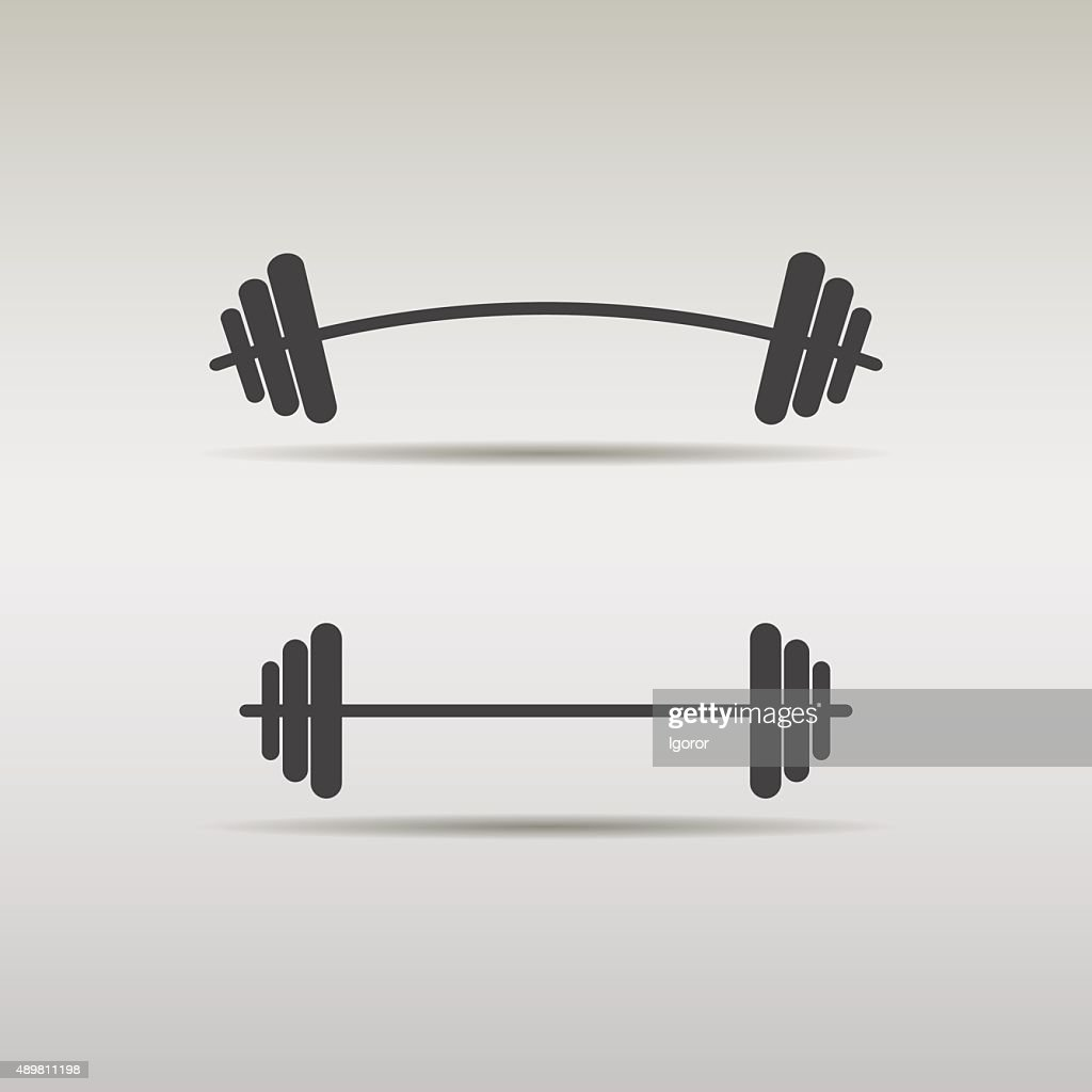 set barbell icon
