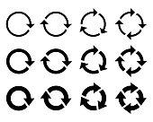 Set circle arrows