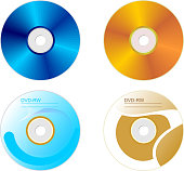 Set DVD disk with both sides