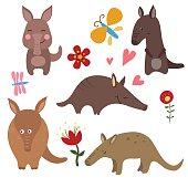 Set funny aardvarks