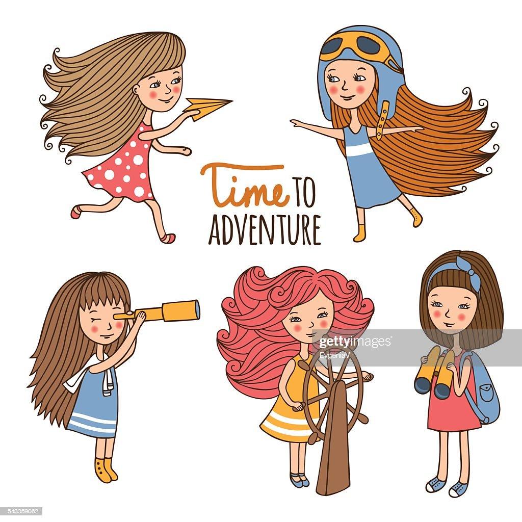 Set girls the Explorer