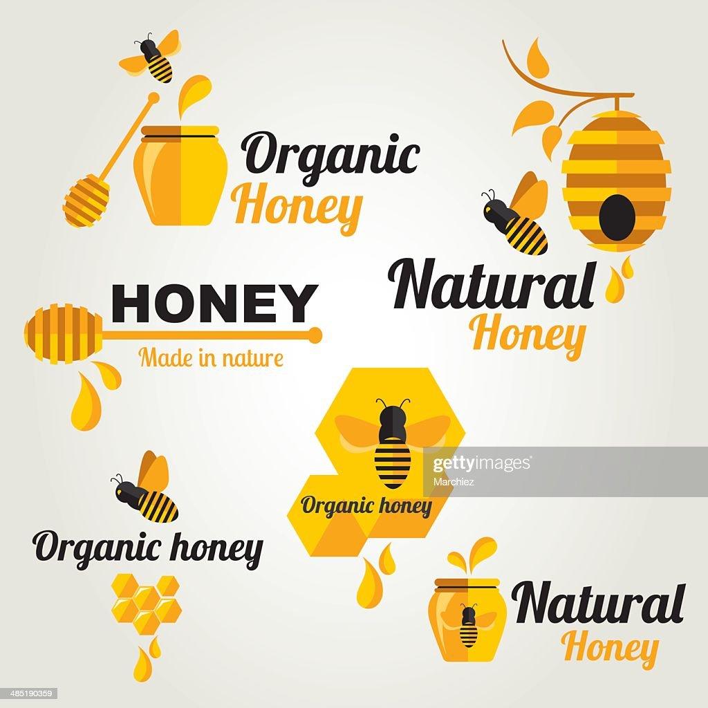 Set Honey badges and labels.