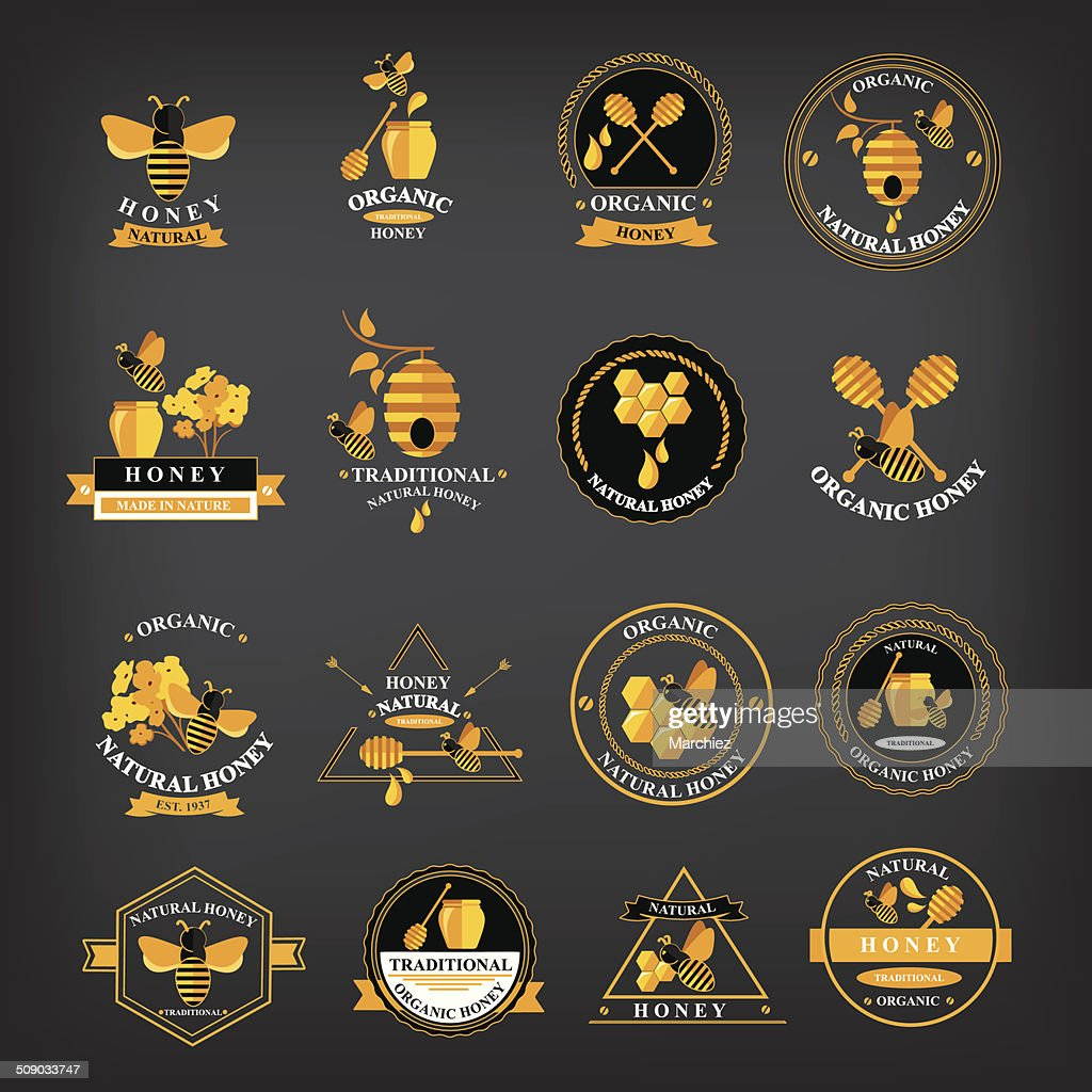 Set Honey badges and labels.