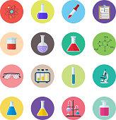 Set icon chemicals