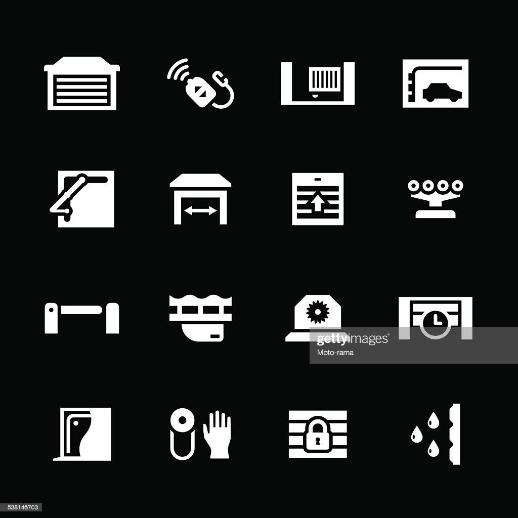 Set icons of automatic gates