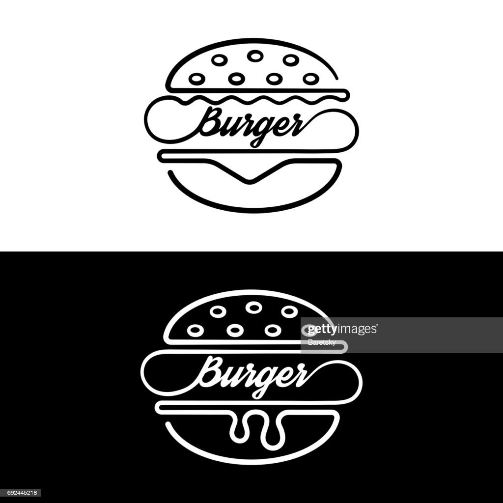 Set of badges sandwich