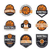 Set of basketball s