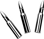 Set of bullets for rifles