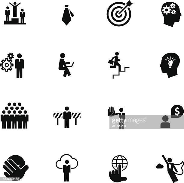 Set of Business Metaphore Icons #6