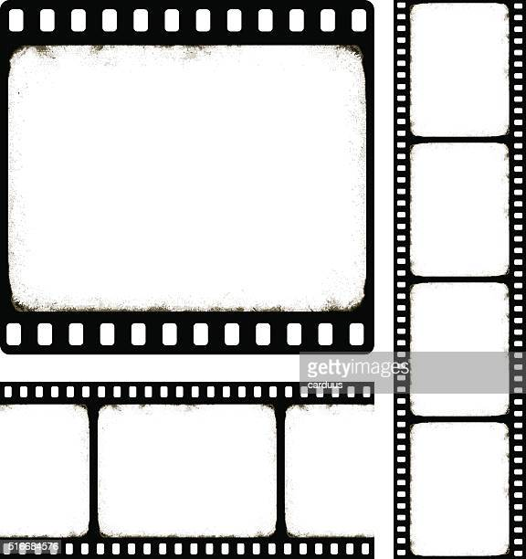 set of camera roll - film industry stock illustrations