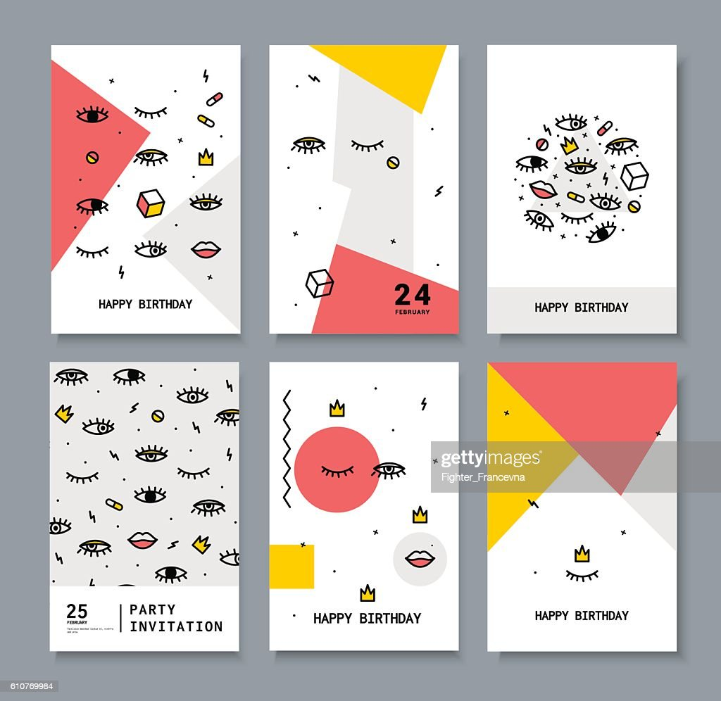 set of cards for the holiday.