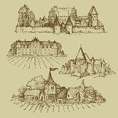 set of castles