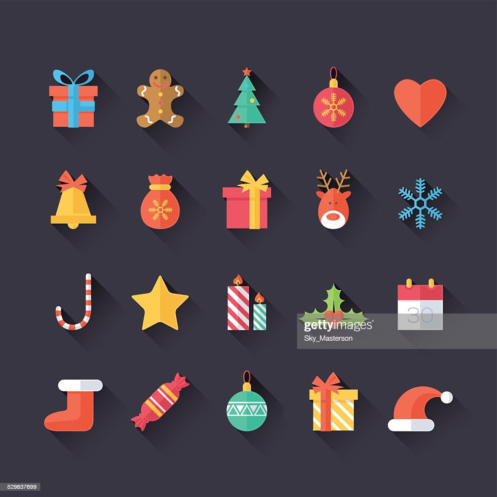 Set of Christmas Icons