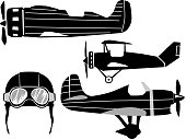 set of classical airplanes