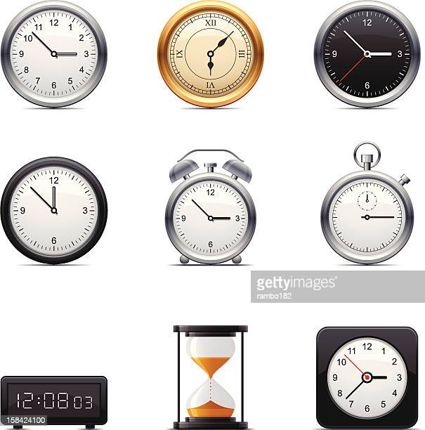 60 Top Old Clock Stock Illustrations, Clip art, Cartoons