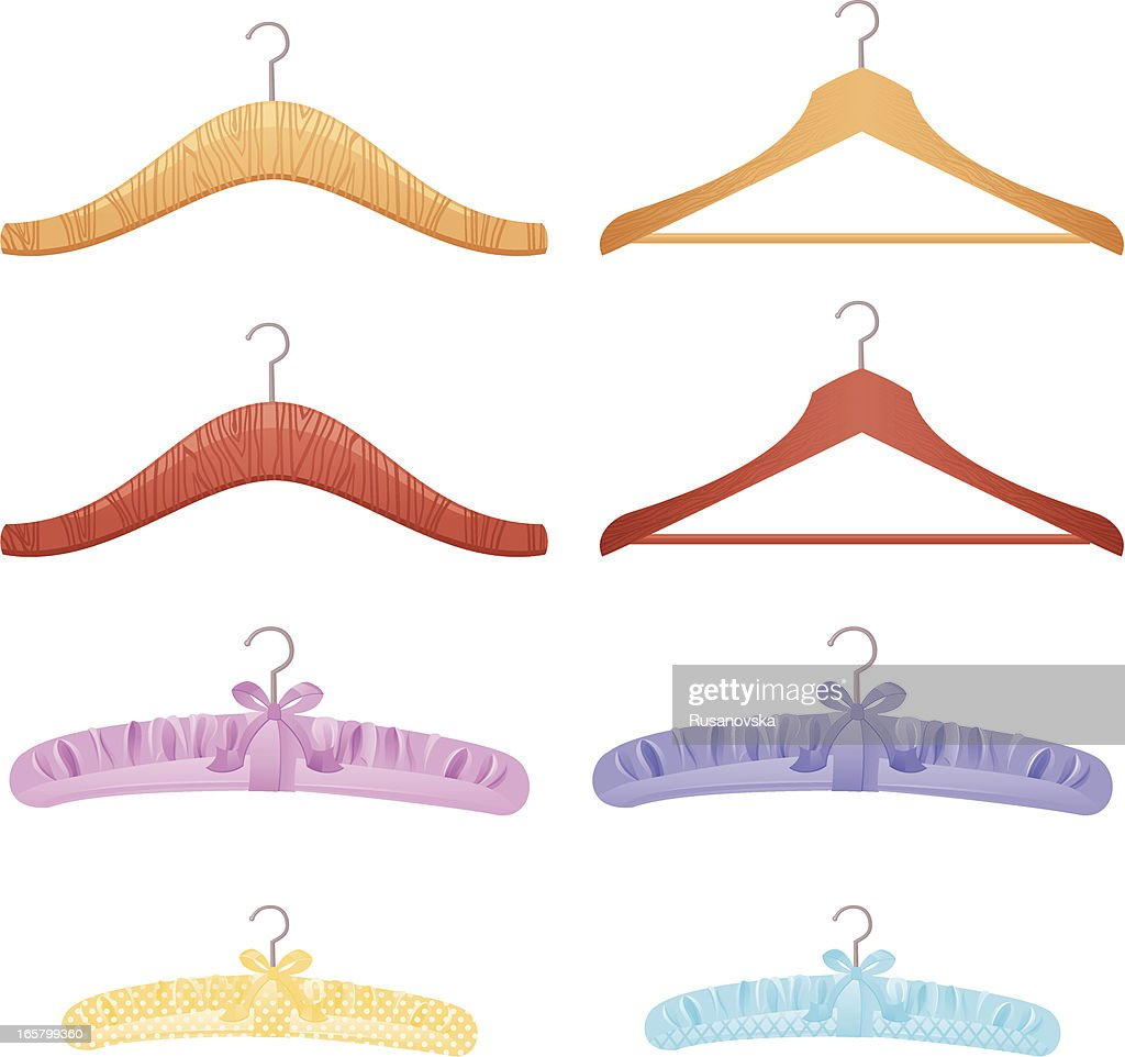 Set of Clothes Hangers