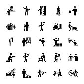 Set Of Construction Pictograms