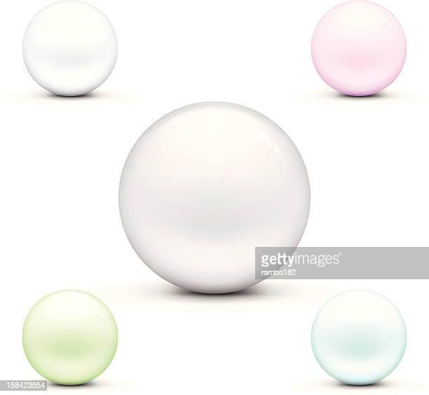 Set of Crystal Balls
