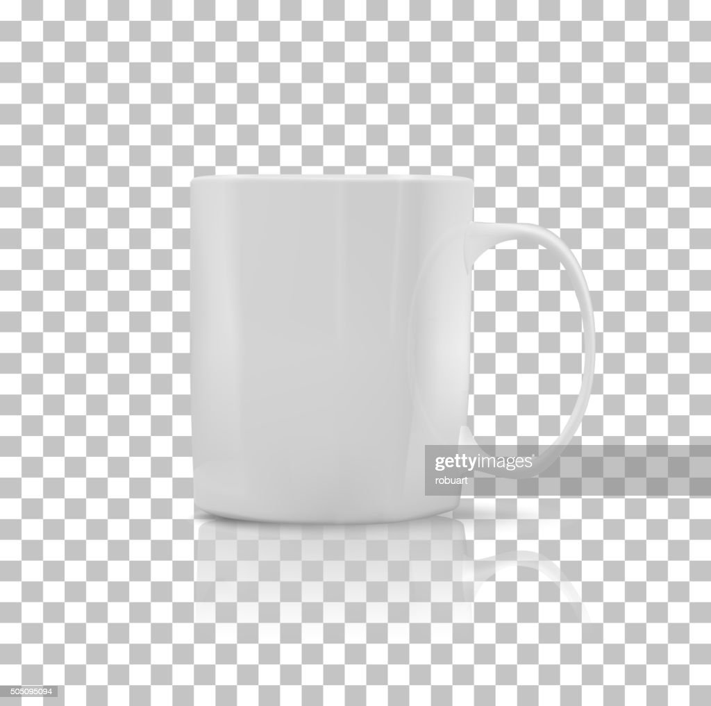 Set of Cup or Mug White Color